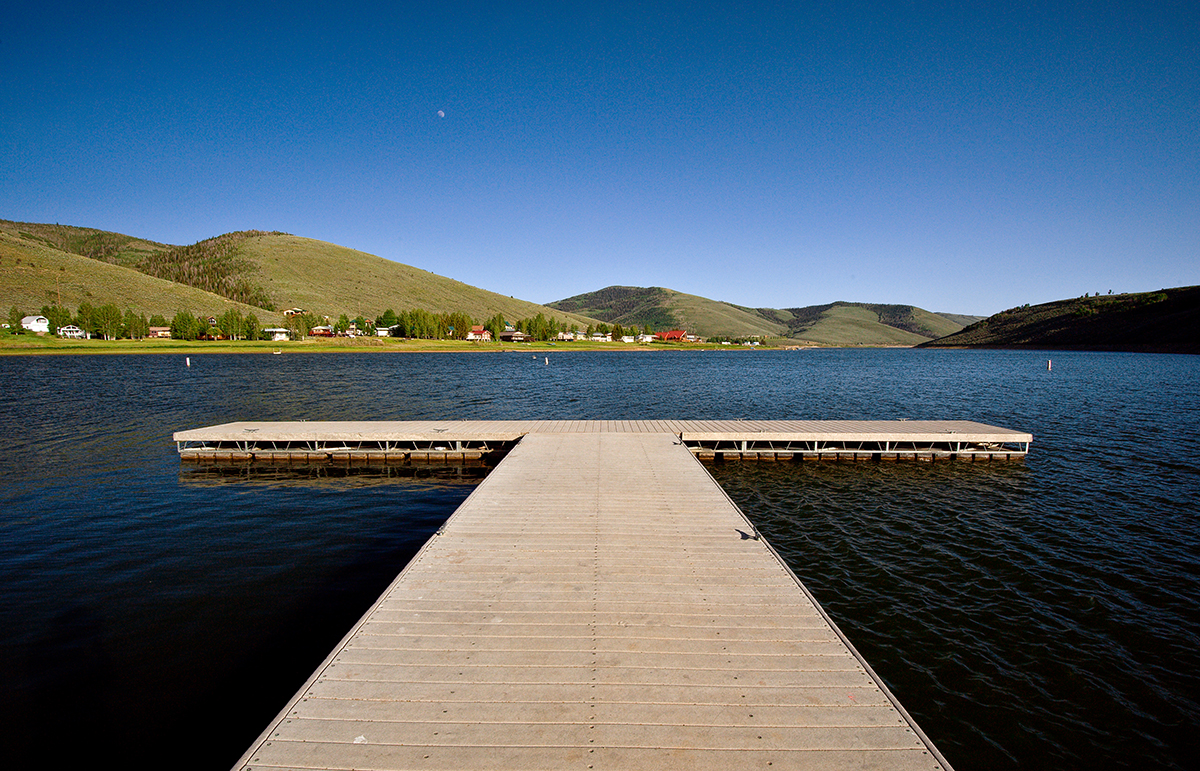 Scofield Reservoir Dock