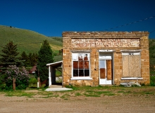 Old Store in Scofield Mountains