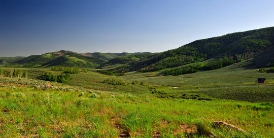 Stunning Scofield Mountains